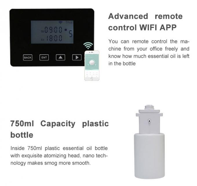Smart Remote Control HVAC Scent Diffuser Private Label Essential Oil Diffuser