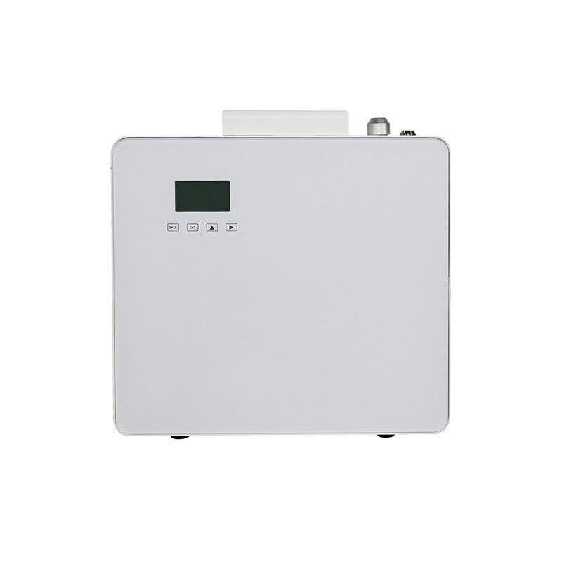 Fan Operated Air Aroma Machine Acrylic White 1L Touch Screen Aroma System supplier